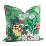 Image of Jade Schumacher Chiang Mai Dragon Pillow Cover For Sale