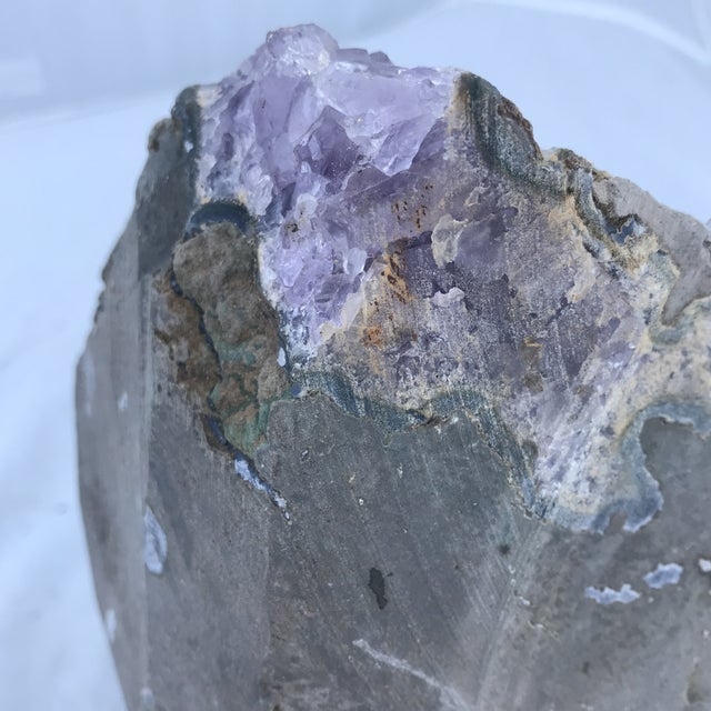Purple Brazilian Amethyst Cathedral For Sale - Image 8 of 9