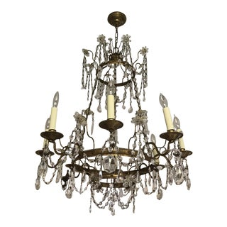Chelsea House Crystal Chandelier For Sale