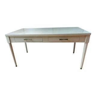 Vintage Mid-Century Painted Desk For Sale