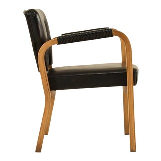 Alvar Aalto Rare Edition Armchair #43, new old stock, Finland, 1940s