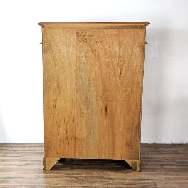 2010s Stanley Furniture Traditional Wooden Chest For Sale - Image 5 of 10