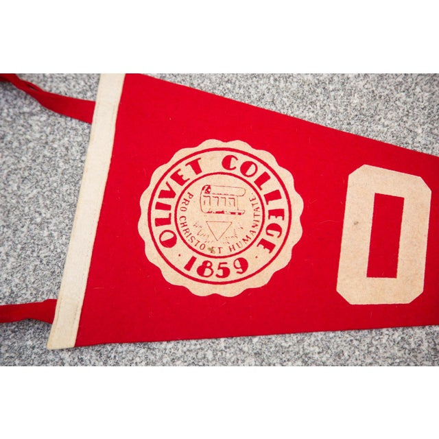 Olivet College Felt Flag - Image 2 of 3