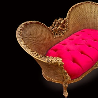 Louis XV Style Tufted Settee Preview