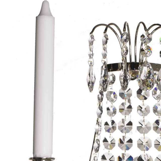 A beautiful and stylish sconce in empire style that adorn your wall with its beautiful glow. Suitable both as a supplement...