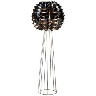 Max Sauze, Black Orion, Floor Lamp For Sale