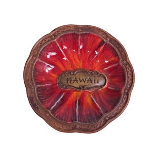 Small Treasure Craft Hawaiian Flower Catchall