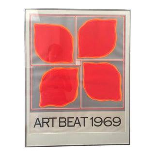 """Art Beat 1969"" Vintage Poster For Sale"