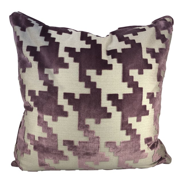 """21"""" Square Robert Allen Pillow from Kenneth Ludwig Chicago For Sale"""