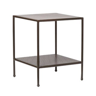 Sabin Angeles Square Outdoor Side Table For Sale