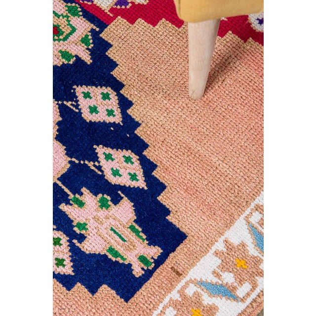 Stylish and durable, this Turkish rug will add warmth to any room with its classic design, inviting texture, and refined...