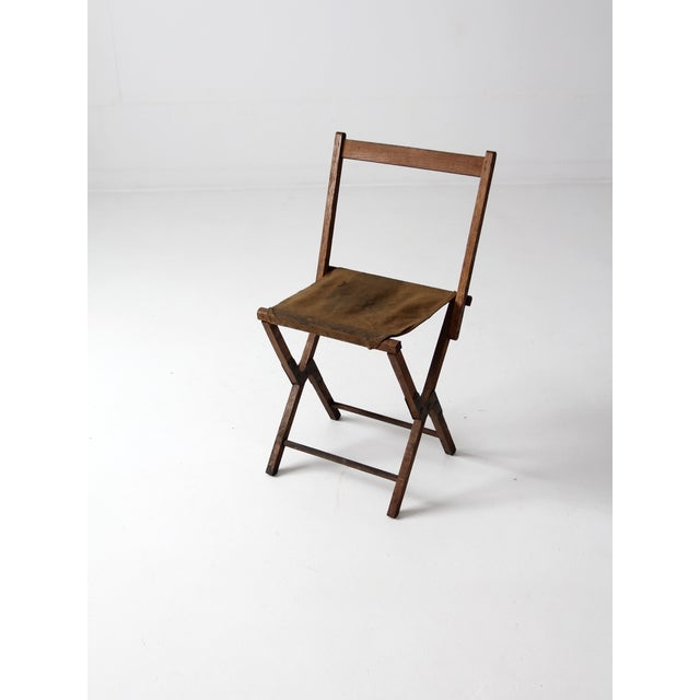 Vintage American Folding Camp Chair - Image 2 of 7