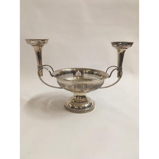 English Silverplated Epergne - Image 2 of 4
