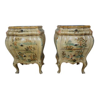 Pair of Italian Painted Chests C. 1930 For Sale