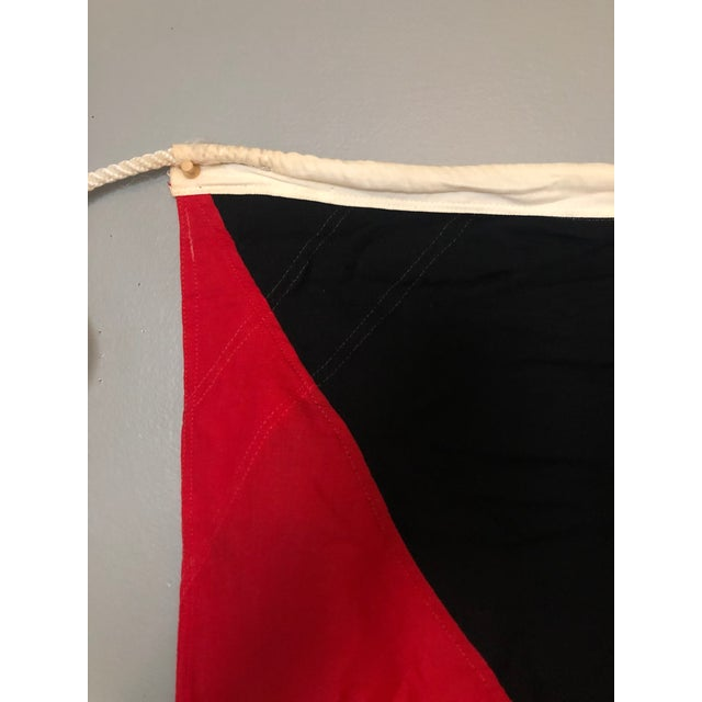 """Industrial """"Z"""" Maritime Signal Flag For Sale - Image 3 of 6"""