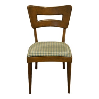Mid Century Modern Heywood Wakefield Keyhole Dining Side Chair For Sale