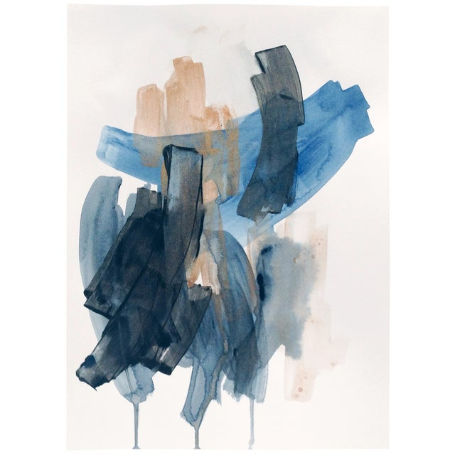 Dani Schafer We Go Between IV Abstract Painting - Image 1 of 2