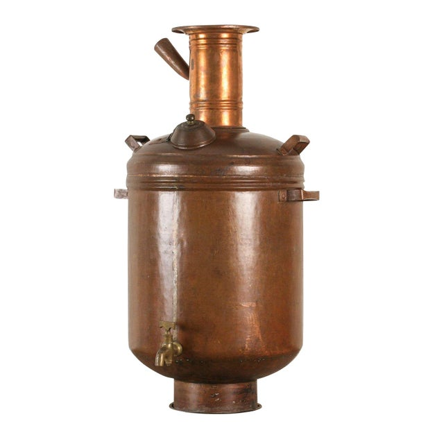 Copper Hot Water Maker or Samovar from India - Image 1 of 5