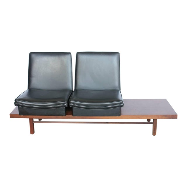 Vintage Mid-Century Milo Baughman for Thayer Coggin Bench For Sale