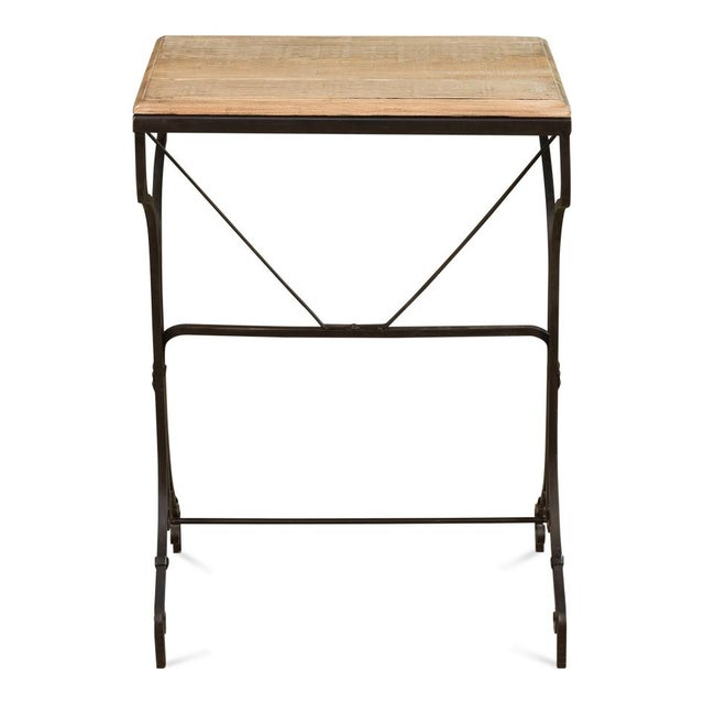 Reclaimed Wood Bistro Table For Sale In Raleigh - Image 6 of 6