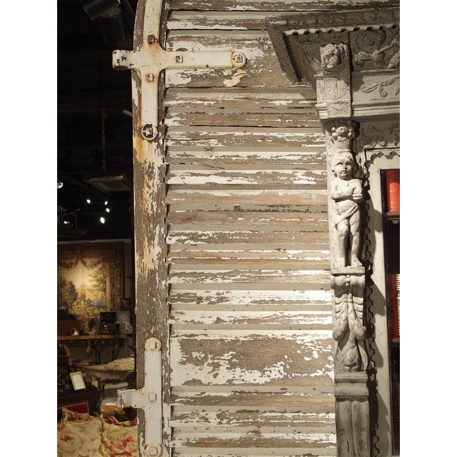 Pair of Large Antique French Door Shutters From a Chateau, 19th Century For Sale - Image 12 of 13