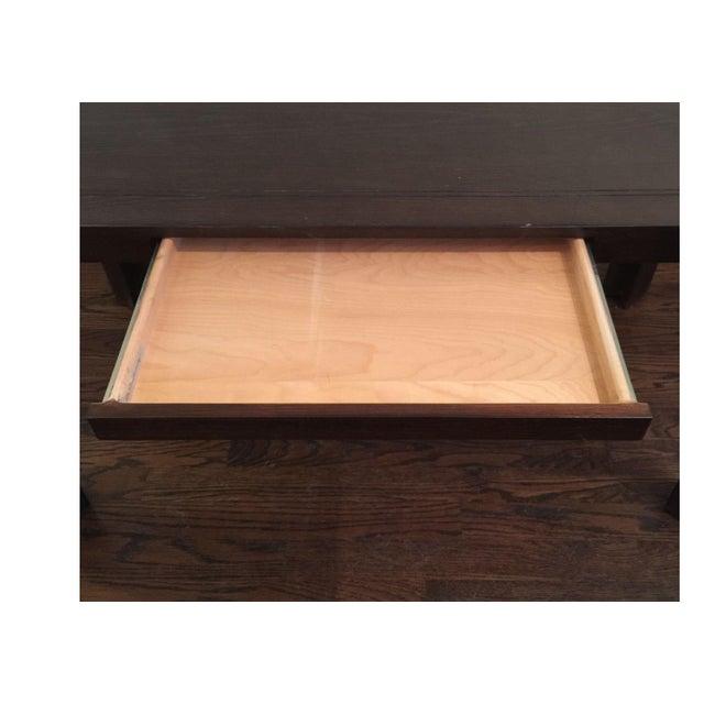 Keller Williams Mid-Century Parson Style Desk - Image 4 of 4