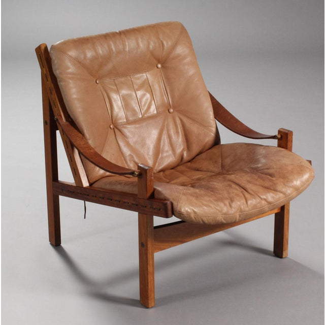Thorbjørn Afdal Armchairs- A Pair For Sale - Image 4 of 9