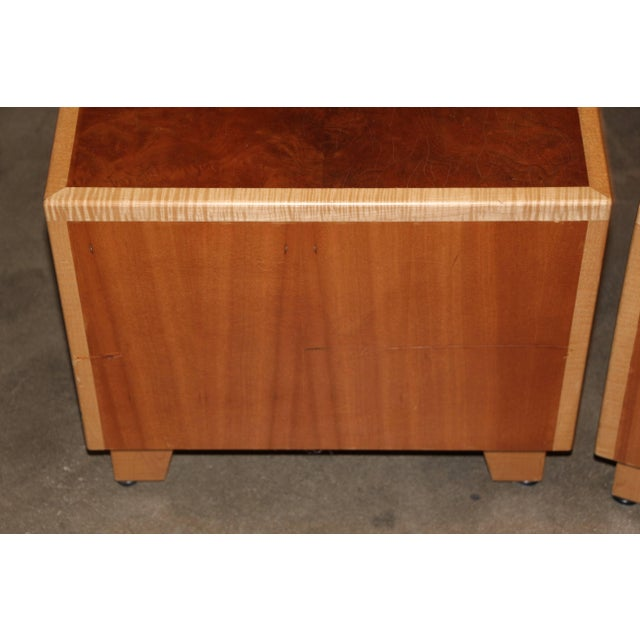"""1990s 1990s Vintage Joseph Kelly Custom Made """"Rorshach Bunching"""" Tables- A Pair For Sale - Image 5 of 11"""