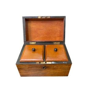 19th Century English Tea Caddy For Sale