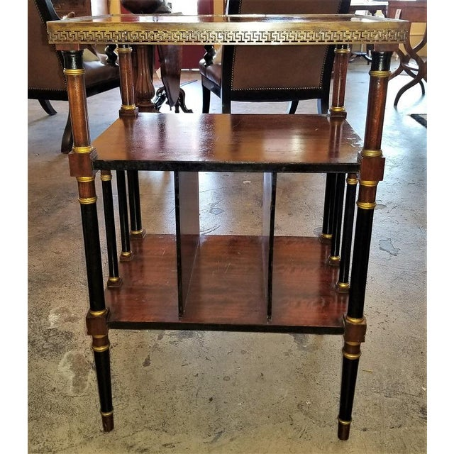 Empire Style Canterbury Side Table For Sale - Image 11 of 13