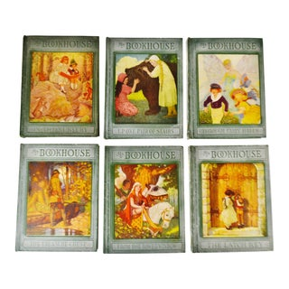 1920's Olive Beaupre Miller My Bookhouse Children's Illustrated Books - 6 Volume Set For Sale