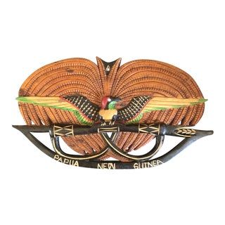 Papua New Guinea Tribal Hand Carved Art For Sale