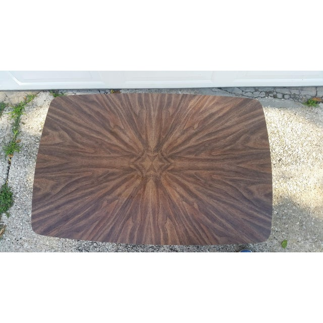 Mid-Century Modern Mid-Century Lane Side Table W/ Laminated Pattern For Sale - Image 3 of 6