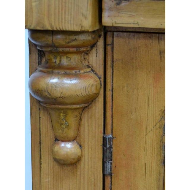 Wood Country Pine and Beech Chiffonier For Sale - Image 7 of 10