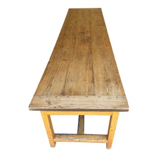 Mid-1800s Antique Farm Table