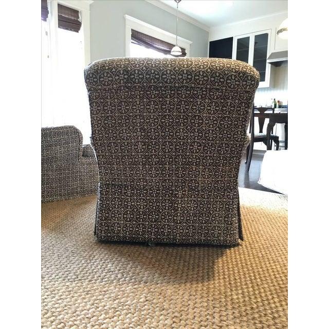 Lee Industries Designer Club Chairs - Pair - Image 3 of 5