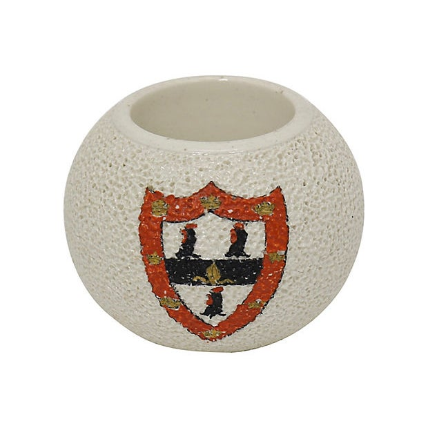 Carlton Ware Antique Jesus College of Oxford University Match Striker For Sale - Image 4 of 4