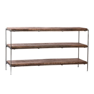 Salvaged Mango Wood Shelf For Sale