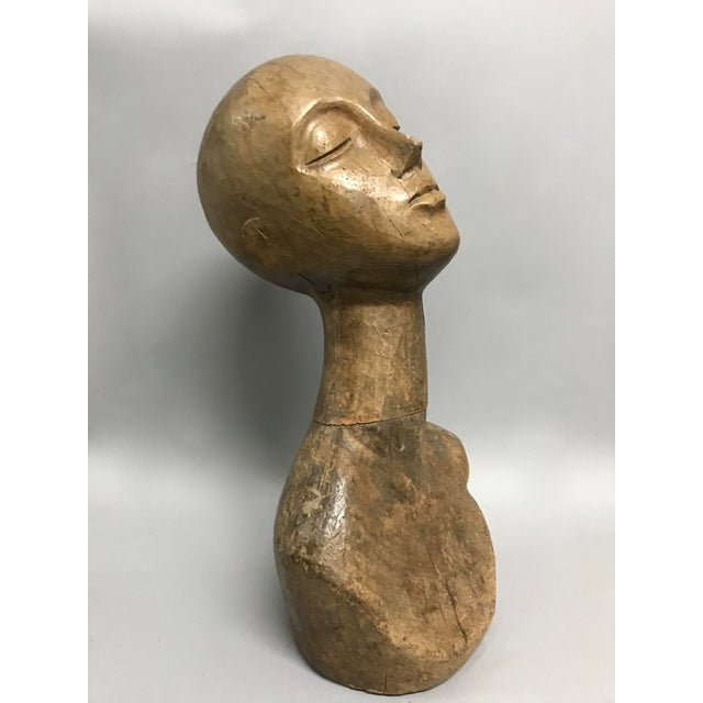 Vintage Carved wood Mannequin. Made of solid wood. Very good and excellent condition.