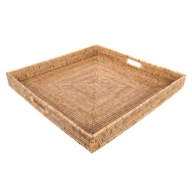Image of Newly Made Rattan Trays