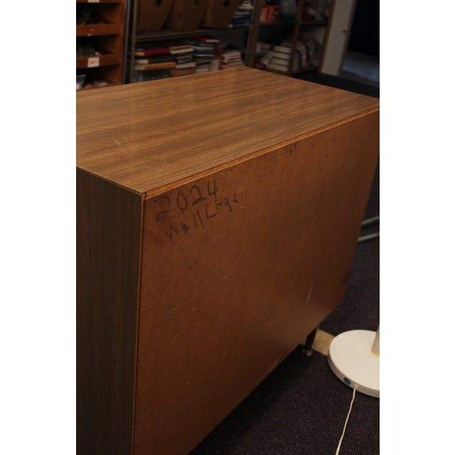 Mid-Century Modern Louvre-Front Bachelor Chest - Image 9 of 9