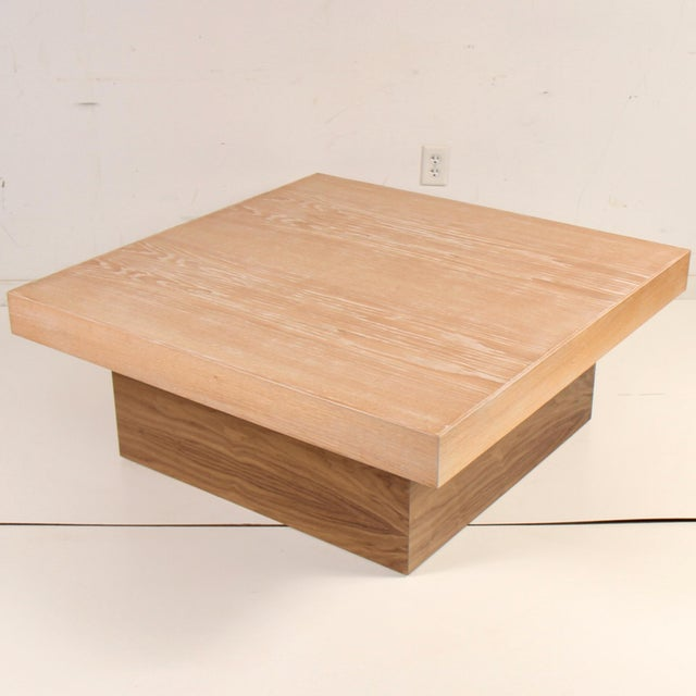 Cerused Coffee Table by Samuel Greg For Sale - Image 10 of 10