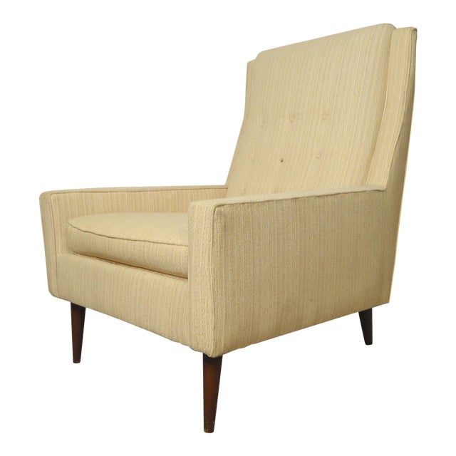 Mid-Century Paul McCobb Style Lounge Chair For Sale