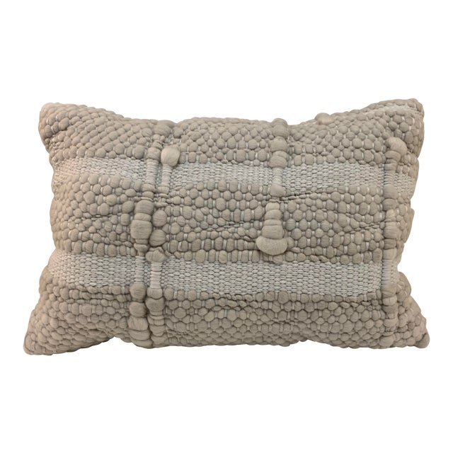 Pehuen Patagonia Designs Lumbar Throw Pillow For Sale