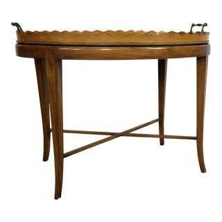 1940s Traditional Fruitwood Coffee Table For Sale