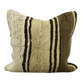 Image of Vintage Turkish Traditional Hand Woven Kilim Pillow Cover For Sale