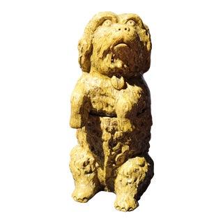 19c. Jermoe Massier Vallauris Pottery Dog