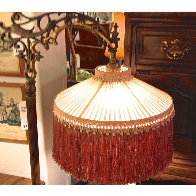 Antique 1930's Bronze Floor Lamp - Image 7 of 8