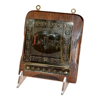 Early 20th C Letter Holder For Sale
