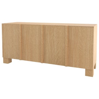 Contemporary 100 Sideboard in Oak by Orphan Work, 2019 For Sale